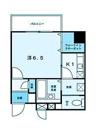 アルカンシェル新横浜[7階]の間取り