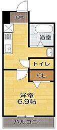 光陽ビルディングⅡ[2階]の間取り