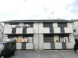 千葉県市原市古市場の賃貸アパートの外観