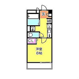 リブリ・サンヴィレッジ24[3階]の間取り