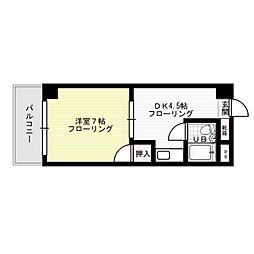 パークコート箱崎[305号室]の間取り