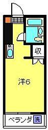 神奈川県横浜市港北区日吉本町4丁目の賃貸マンションの間取り