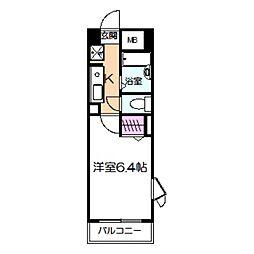 Novum ROSA[4階]の間取り