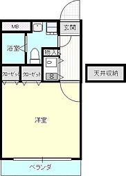 入江ビル(新館)[611号室]の間取り