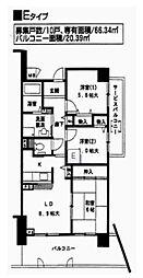 グランシャリオ(一般)[6階]の間取り