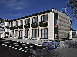 愛知県岡崎市上地3丁目の賃貸アパートの外観