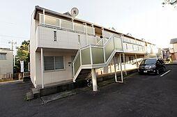東京都武蔵村山市学園1の賃貸アパートの外観