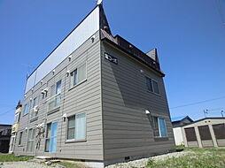 外観,2DK,面積42.2m2,賃料3.2万円,,,北海道石狩市花川北六条2丁目5-