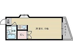 仙田ハイツ[3階]の間取り