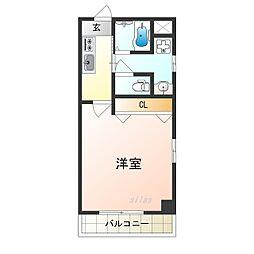 TOYOTOMI STAY PREMIUM 天王寺公園南I 8階1Kの間取り