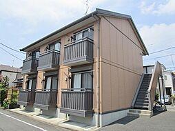神奈川県相模原市中央区弥栄1丁目の賃貸アパートの外観