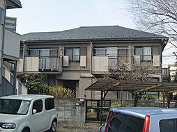 埼玉県所沢市金山町の賃貸アパートの外観