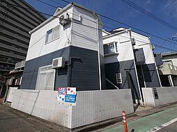 神奈川県厚木市田村町の賃貸アパートの外観