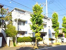 神奈川県横浜市青葉区もみの木台の賃貸マンションの外観