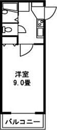 ドミール妙典[5階]の間取り