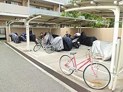 サニープレイス西芦屋2号館の駐車場