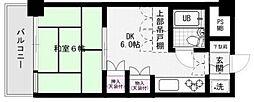 ダイアパレス野間[305号室]の間取り