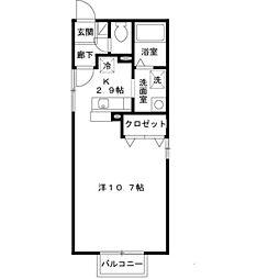 マーレ・ヴィスタ須磨[2階]の間取り