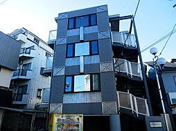 神奈川県川崎市中原区上小田中3の賃貸マンションの外観