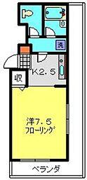 ダイアパレスクロッシングマインド横浜[311号室]の間取り