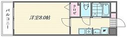 プレアール原田II[303号室]の間取り