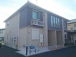 神奈川県大和市下鶴間の賃貸アパートの外観