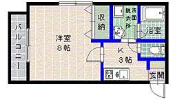 メゾン飯倉[103号室]の間取り