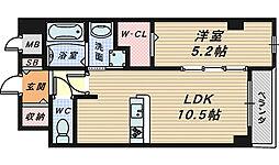 ピュアシンフォニー[6階]の間取り