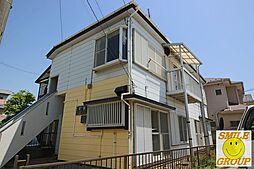 千葉県市川市北方町4丁目の賃貸アパートの外観
