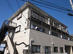 神奈川県横浜市港南区日野1丁目の賃貸アパートの外観