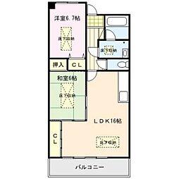 RENACE MITOU(ルネスミトウ)[2階]の間取り