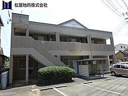 愛知県豊橋市向山町字池下の賃貸アパートの外観