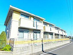 東京都府中市住吉町3丁目の賃貸アパートの外観