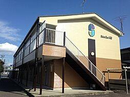 愛知県北名古屋市徳重高道の賃貸アパートの外観