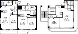 エステ浅草壱番館[6階]の間取り