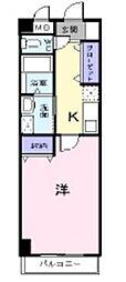 プリート・カーサ[402号室]の間取り