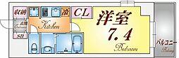 ワコーレヴィータ須磨行幸町[4階]の間取り