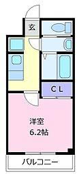 ARATA松原天美東[1階]の間取り