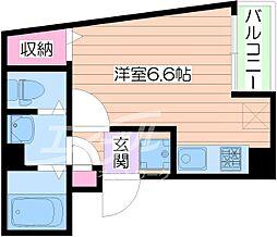 STANDARD高殿[5階]の間取り