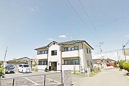 福島県郡山市大槻町字原田北の賃貸アパートの外観
