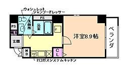 マティエール東梅田[8階]の間取り
