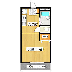 Star・Ring江戸川[1階]の間取り