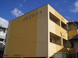 大阪府大阪市平野区加美南1丁目の賃貸マンションの外観