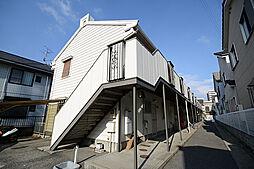 大阪府堺市西区鳳東町6丁の賃貸アパートの外観