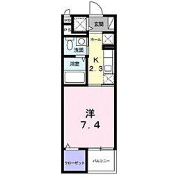 埼玉県さいたま市緑区美園4丁目の賃貸マンションの間取り