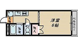 大阪府和泉市唐国町2の賃貸アパートの間取り