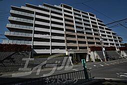 大阪府豊中市若竹町1丁目の賃貸マンションの外観