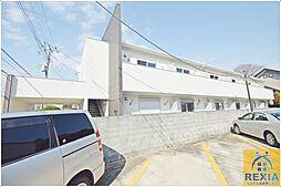 千葉県千葉市花見川区検見川町3の賃貸アパートの外観