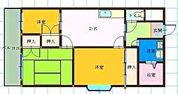合川ビレッジII[302号室]の間取り