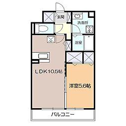 アンソレイユ湘南[2階]の間取り